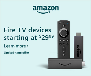 Amazon Fire TV Devices Starting at $29.99