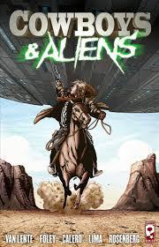 Cowboys & Aliens comic cover
