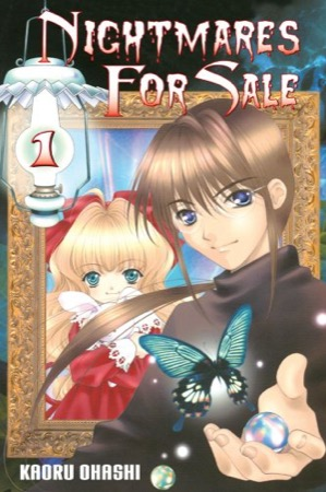 Nightmares for Sale volume 1 cover