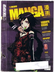 Tokyopop Manga magazine cover