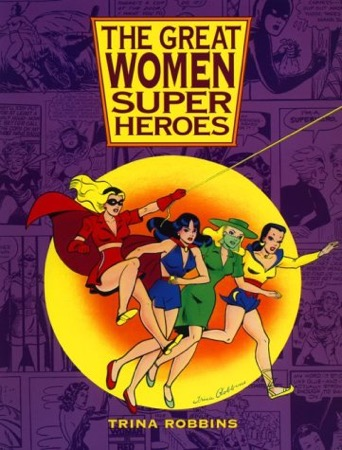 The Great Women Superheroes cover
