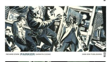 Parker promo art by Darwyn Cooke