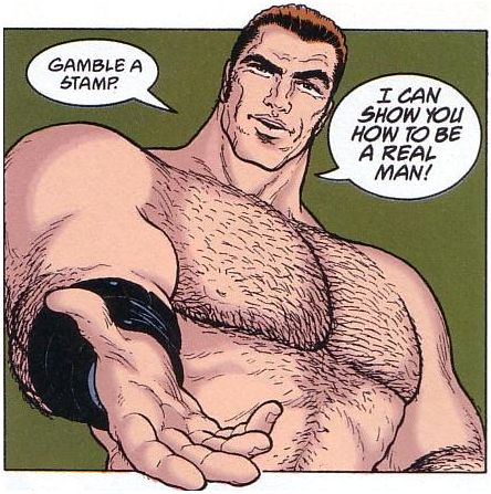 Flex Mentallo, real man