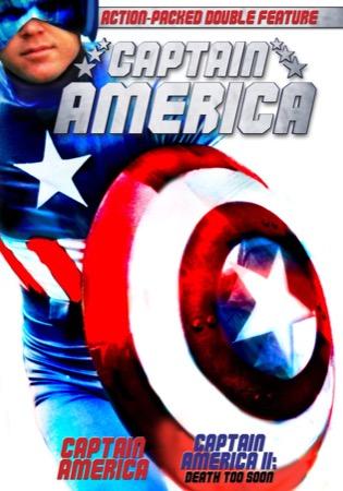 Captain America / Captain America II: Death Too Soon cover