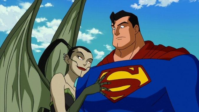 Menagerie and Superman in Superman vs. the Elite