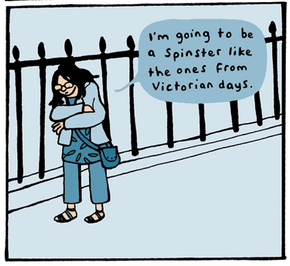 Please God, Find Me a Husband! panel by Simone Lia