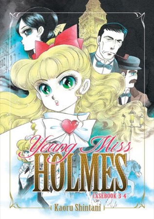 Young Miss Holmes Casebook 3-4 cover