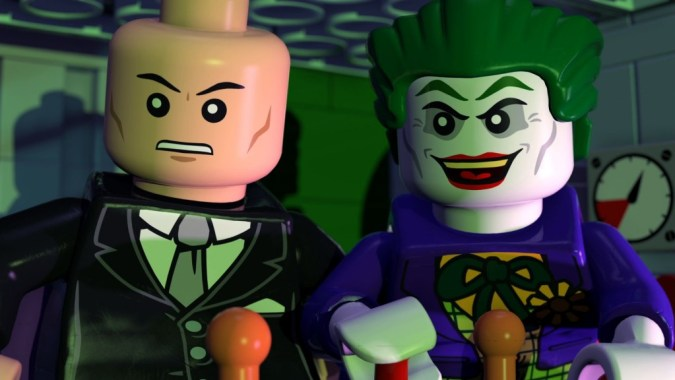 Lex Luthor and the Joker team up in Lego Batman: The Movie