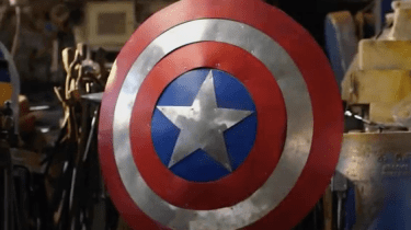 Captain America's shield made by Man at Arms
