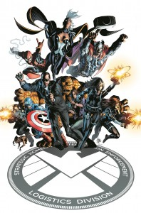 S.H.I.E.L.D. #1 cover by Mike Deodato