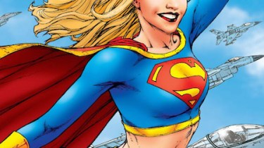 Supergirl comic cover