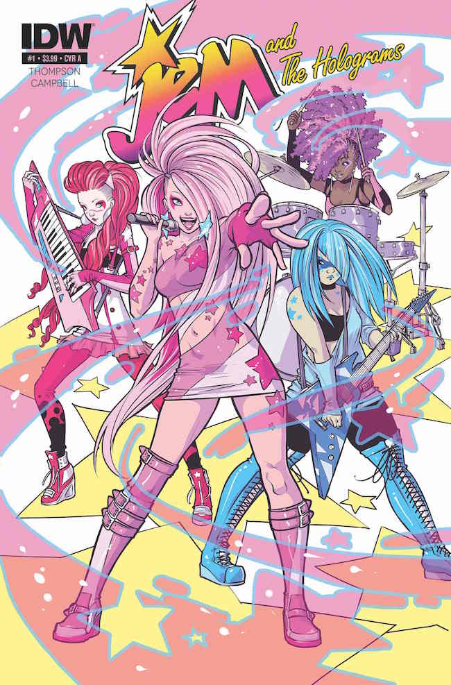 Jem and the Holograms #1-2