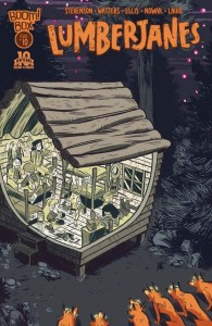 Lumberjanes #10 cover