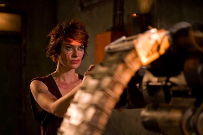 Lena Headey as Ma-Ma in Dredd