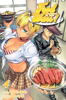 Food Wars volume 4 cover