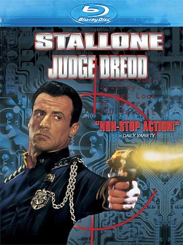 Judge Dredd Blu-ray cover