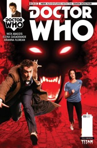 Doctor Who: The Tenth Doctor #3 photo cover