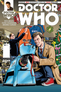 Doctor Who: The Tenth Doctor #5 Who Shop variant cover