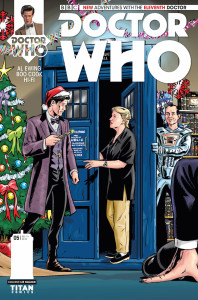 Doctor Who: The Eleventh Doctor #5 Who Shop variant cover