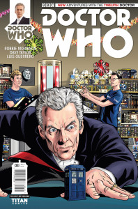 Doctor Who: The Twelfth Doctor #3 Who Shop variant cover