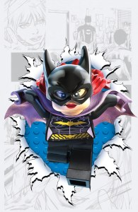 Batgirl #36 LEGO variant cover