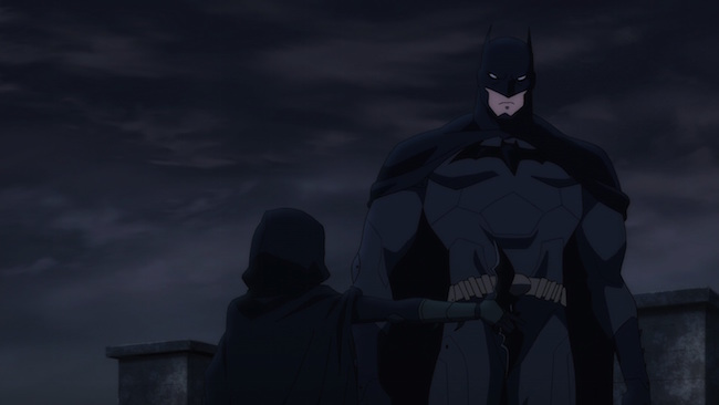 BvR - Robin blocking Batman