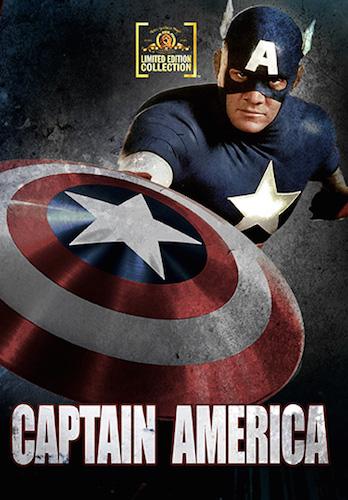 Captain America on DVD