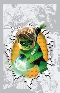 Green Lantern #36 LEGO variant cover