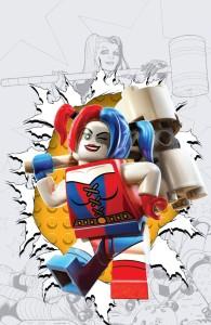 Harley Quinn #12 LEGO variant cover