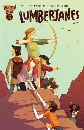 Lumberjanes #5 cover