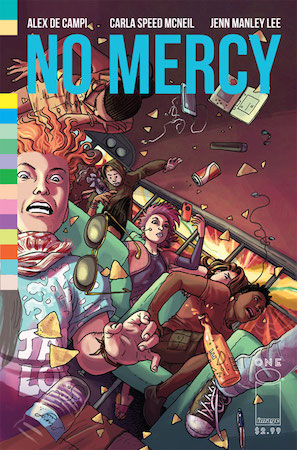 No Mercy #1 cover