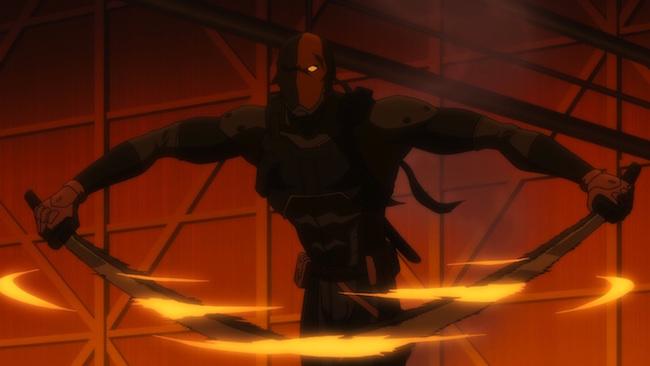 Son of Batman promo image - Deathstroke