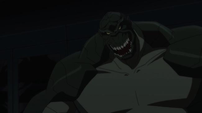 Son of Batman promo image - Killer Croc