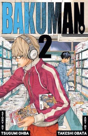 Bakuman Volume 2 cover