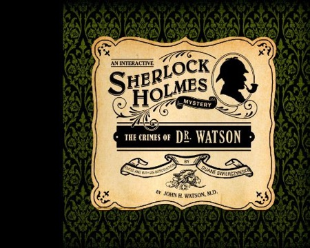 The Crimes of Dr. Watson cover