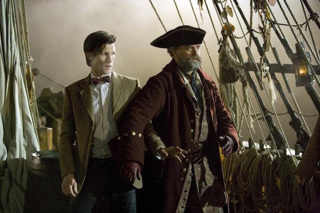 Matt Smith and Hugh Bonneville in Episode 3