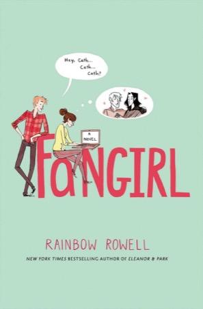 Fangirl cover by Noelle Stevenson