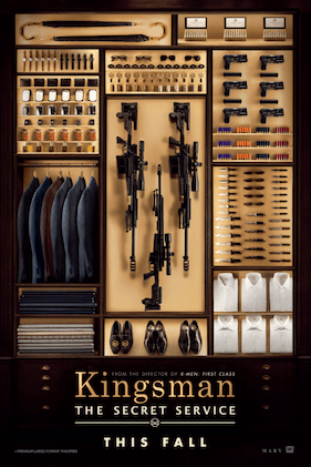 Kingsman movie poster