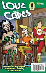 Love and Capes #11 cover