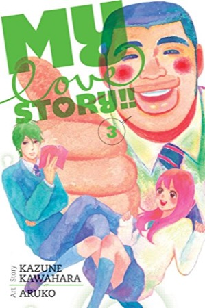 My Love Story!! volume 3 cover
