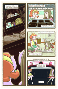 Nutmeg #1 page 1