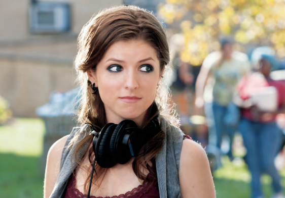 Anna Kendrick as Beca in Pitch Perfect