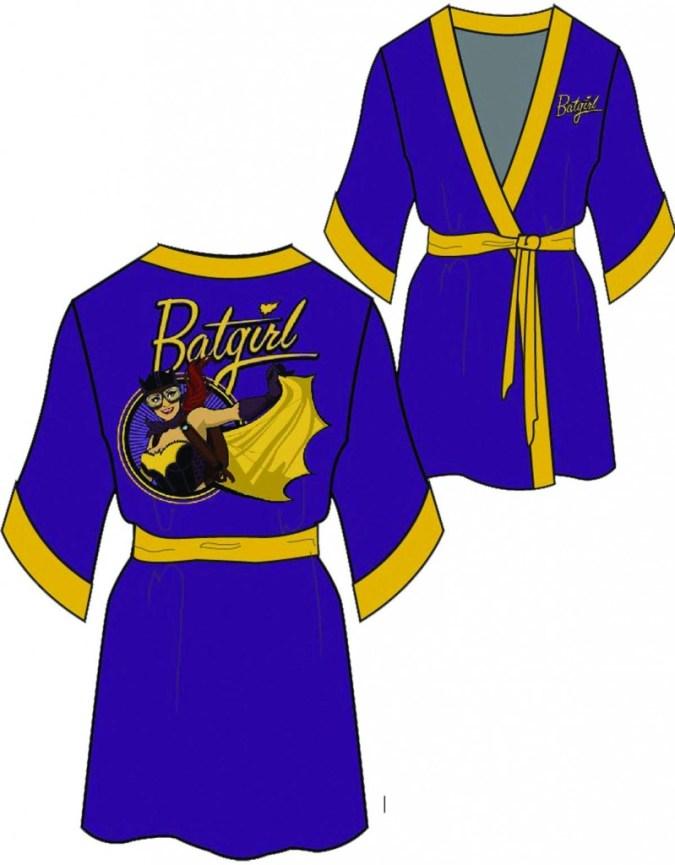 Purple Batgirl Robe