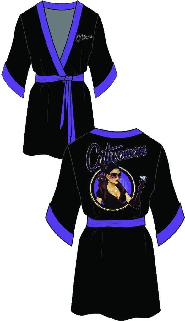 Catwoman Black Robe