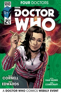 Doctor Who: Four Doctors #2 companion cover