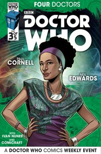 Doctor Who: Four Doctors #3 companion cover