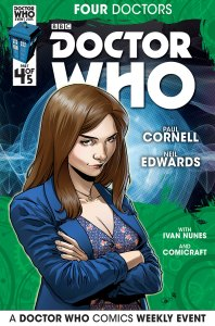 Doctor Who: Four Doctors #4 companion cover
