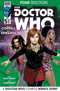 Doctor Who: Four Doctors #5 companion cover
