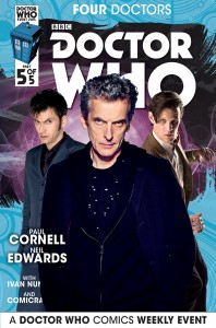 Doctor Who: Four Doctors #5 photo cover