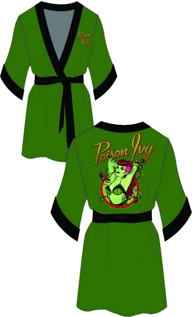 Poison Ivy Green Robe